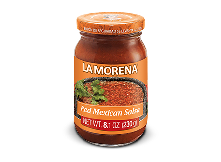 RED MEXICAN SALSA IN JAR