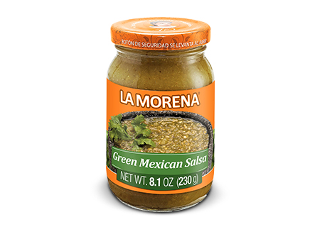 GREEN MEXICAN SALSA IN JAR